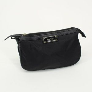 Nicole Miller New York Nylon Clutch Cosmetic Bag